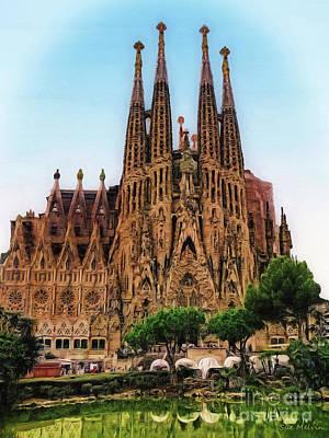 The Sagrada Familia Poster