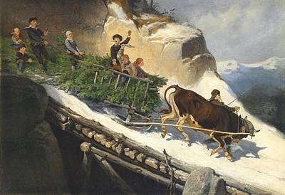 The Salzburg Region Poster by Anton Strassgschwandtner
