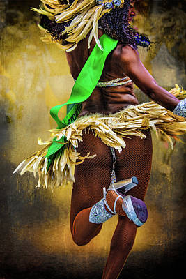 Poster featuring the photograph The Samba Dancer by Chris Lord