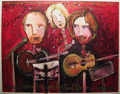 The Samples Painted Live Poster by Laurie Maves ART