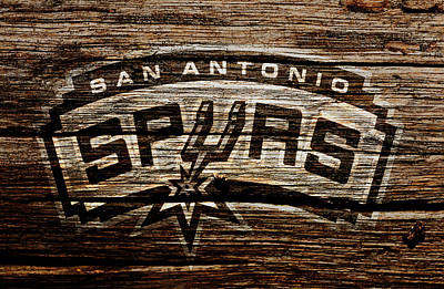 The San Antonio Spurs 2e	 Poster by Brian Reaves