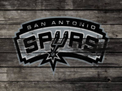 The San Antonio Spurs 3a Poster by Brian Reaves