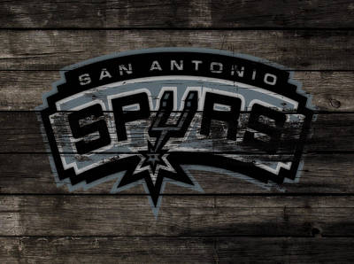 The San Antonio Spurs 3e Poster by Brian Reaves