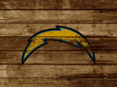 The San Diego Chargers 3a        Poster by Brian Reaves