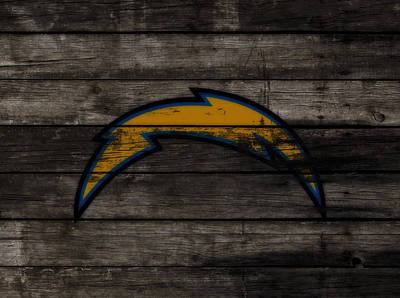 The San Diego Chargers 3c        Poster by Brian Reaves