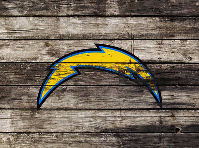 The San Diego Chargers 3j        Poster by Brian Reaves