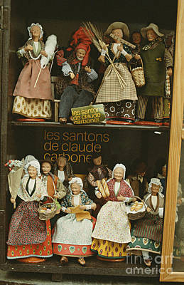 The Santons Of Claude Cardonel Poster by Ronny Jaques