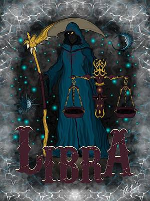 The Scale Libra Spirit Poster