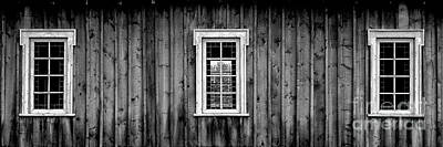 Poster featuring the photograph The School House by Brad Allen Fine Art