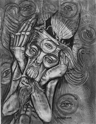 The Scream Poster by Americo Salazar