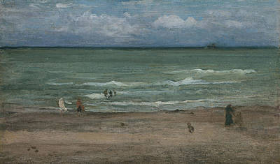 The Sea Poster by James Abbott McNeill Whistler
