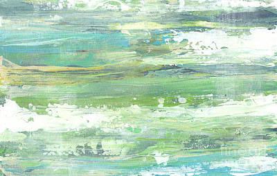 The Seafoam Coast One Poster by Jasmine Mills