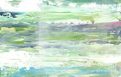 The Seafoam Coast Three Poster by Jasmine Mills