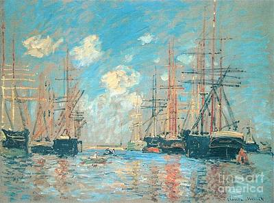 The Seaport Amsterdam Poster by Monet