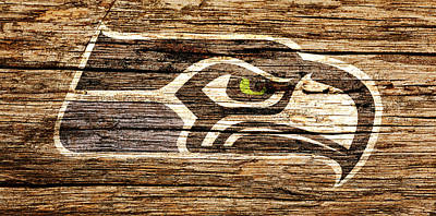 The Seattle Seahawks 2e Poster by Brian Reaves