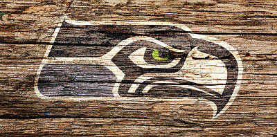 The Seattle Seahawks 2f Poster by Brian Reaves