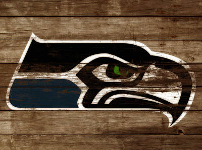The Seattle Seahawks 3b Poster by Brian Reaves