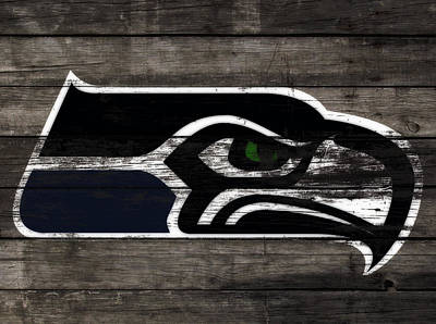 The Seattle Seahawks 3c Poster by Brian Reaves