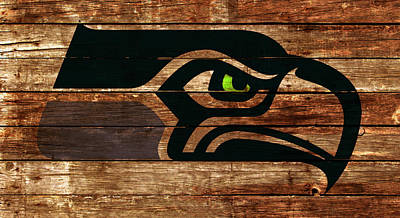 The Seattle Seahawks 4a Poster by Brian Reaves