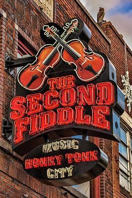 The Second Fiddle Nashville Poster by Stephen Stookey