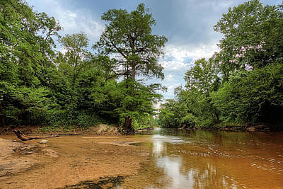 The Sepulga River At Bottle Creek Poster by JC Findley