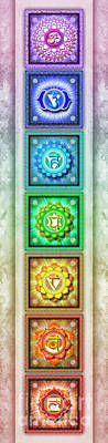 The Seven Chakras - Series 1 Artwork 3 Poster