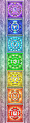 The Seven Chakras - Series 2 Artwork 4 Poster