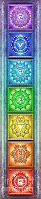 The Seven Chakras - Series 2 Artwork 5 Poster