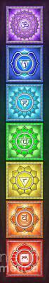 The Seven Chakras - Series 2 Artwork 6 Poster