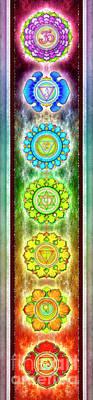 The Seven Chakras - Series 3 Artwork 1 Se.1 Poster