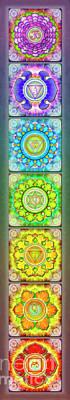 The Seven Chakras - Series 3 Artwork 2.1.1 Poster