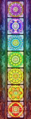 The Seven Chakras - Series 3 Artwork 2.1.2 Poster