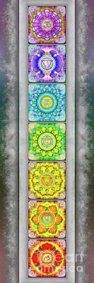 The Seven Chakras - Series 3 Artwork 2.2 Poster