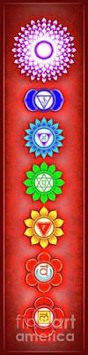 The Seven Chakras - Series 6 Artwork 2-1.1 Poster