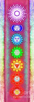 The Seven Chakras - Series 6 Artwork 5 Poster