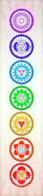 The Seven Chakras - Series 6 Gy.1 Poster