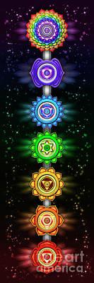 The Seven Chakras - Series Open Chakra II Poster