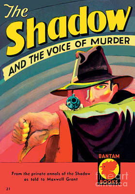 Poster featuring the painting The Shadow by George Rozen