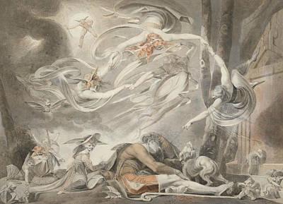 The Shepherd's Dream Poster by Henry Fuseli