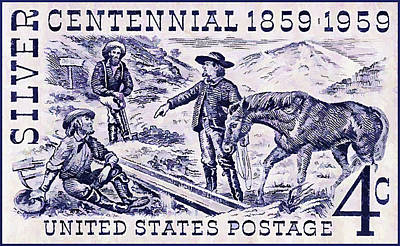 The Silver Centennial Stamp Poster