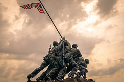 The Skies Over Iwo Jima Poster