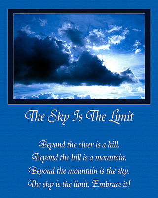 The Sky Is The Limit Poster