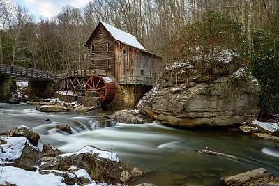 The Splendor Of West Virginia Poster