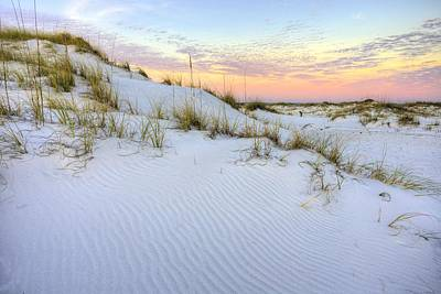 The Snow White Dunes Of The Panhandle Poster by JC Findley