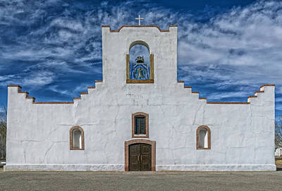 The Socorro Mission Of El Paso Poster by Mountain Dreams