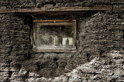 Poster featuring the photograph The Sod House by Brad Allen Fine Art