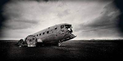 The Solheimsandur Plane Wreck Poster