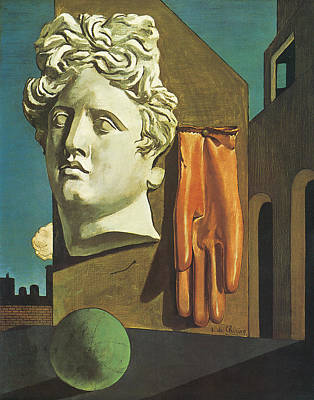The Song Of Love Poster by Giorgio de Chirico