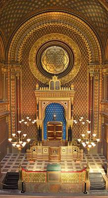 The Spanish Synagogue Poster by Beverly Kay