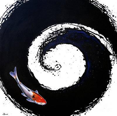 The Spiral 2 Poster by Sandi Baker